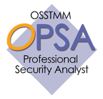 OSSTMM Professional Security Analyst - OPSA